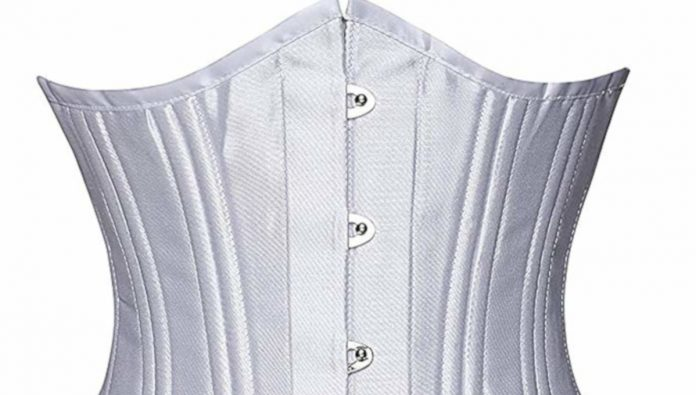 Camellias Women's 26 Steel Boned Heavy Duty Waist Trainer